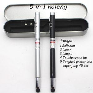 Pen Pointer 5in1 Box Kaleng