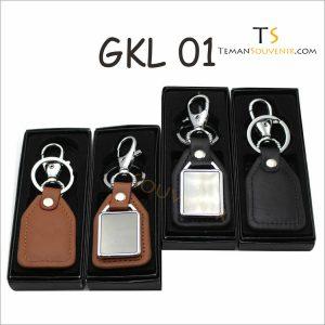 Gantungan kunci Kulit Promosi kode GKL 01, barang promosi, barang grosir, souvenir promosi, merchandise promosi