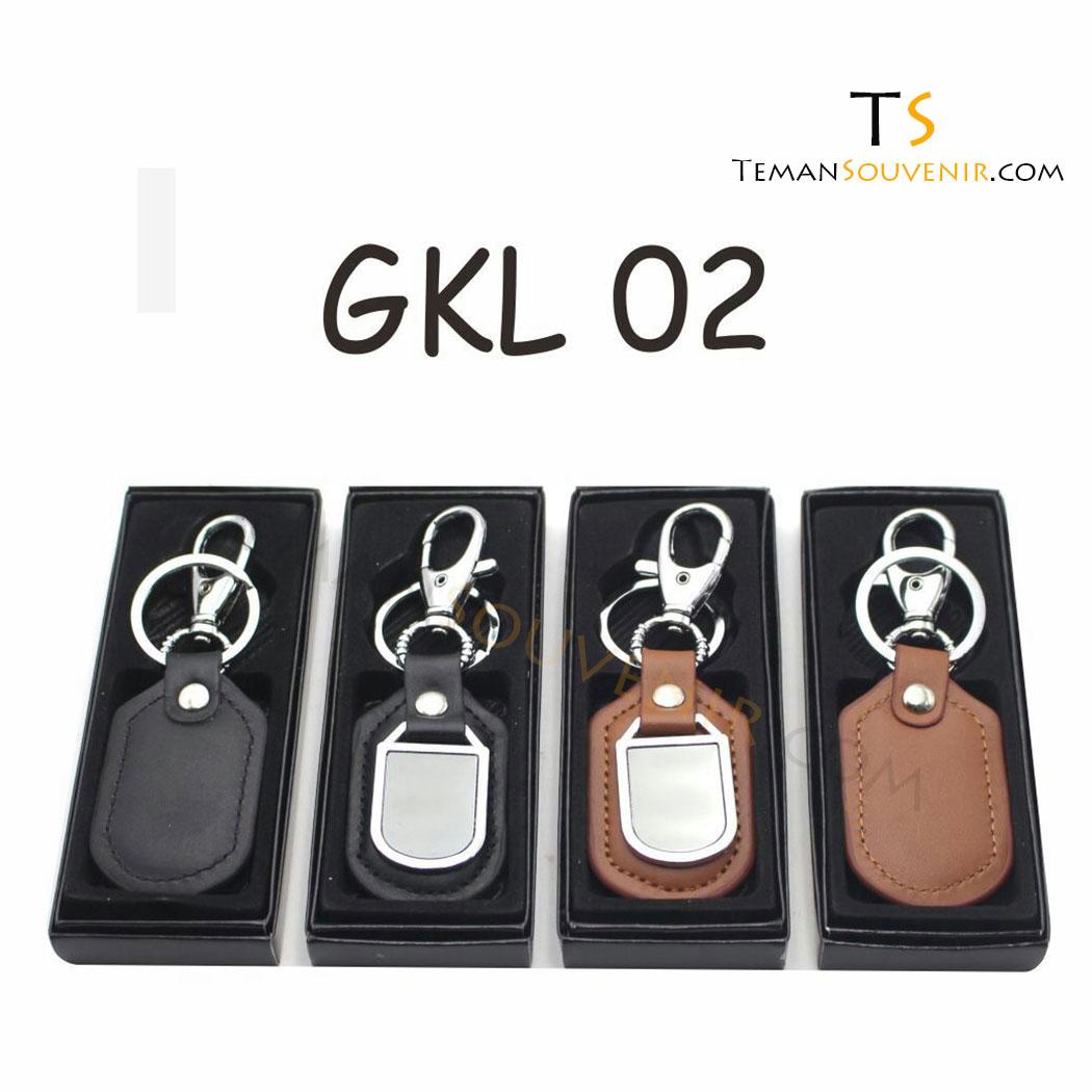 Gantungan kunci Kulit Promosi kode GKL 02, barang promosi, barang grosir, souvenir promosi, merchandise promosi