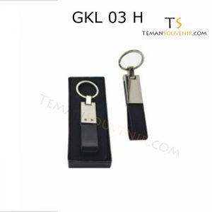 Gantungan kunci Kulit Promosi kode GKL 03 H, barang promosi, barang grosir, souvenir promosi, merchandise promosi