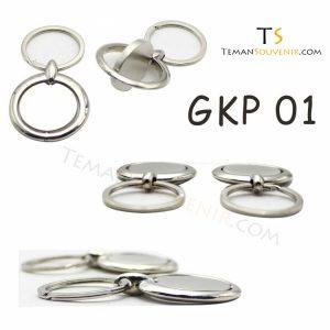 Gantungan kunci Putar Promosi kode GKP 01, barang promosi, barang grosir, souvenir promosi, merchandise promosi