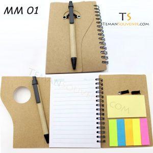Memo Recycle - MM 01, barang promosi, barang grosir, souvenir promosi, merchandise promosi