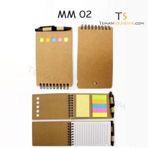 Memo Recycle - MM 02, barang promosi, barang grosir, souvenir promosi, merchandise promosi