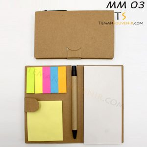 Memo Recycle - MM 03, barang promosi, barang grosir, souvenir promosi, merchandise promosi