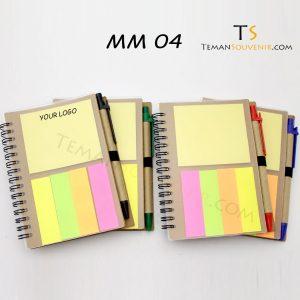Memo Recycle - MM 04, barang promosi, barang grosir, souvenir promosi, merchandise promosi