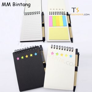 Memo Recycle - MM Bintang, barang promosi, barang grosir, souvenir promosi, merchandise promosi