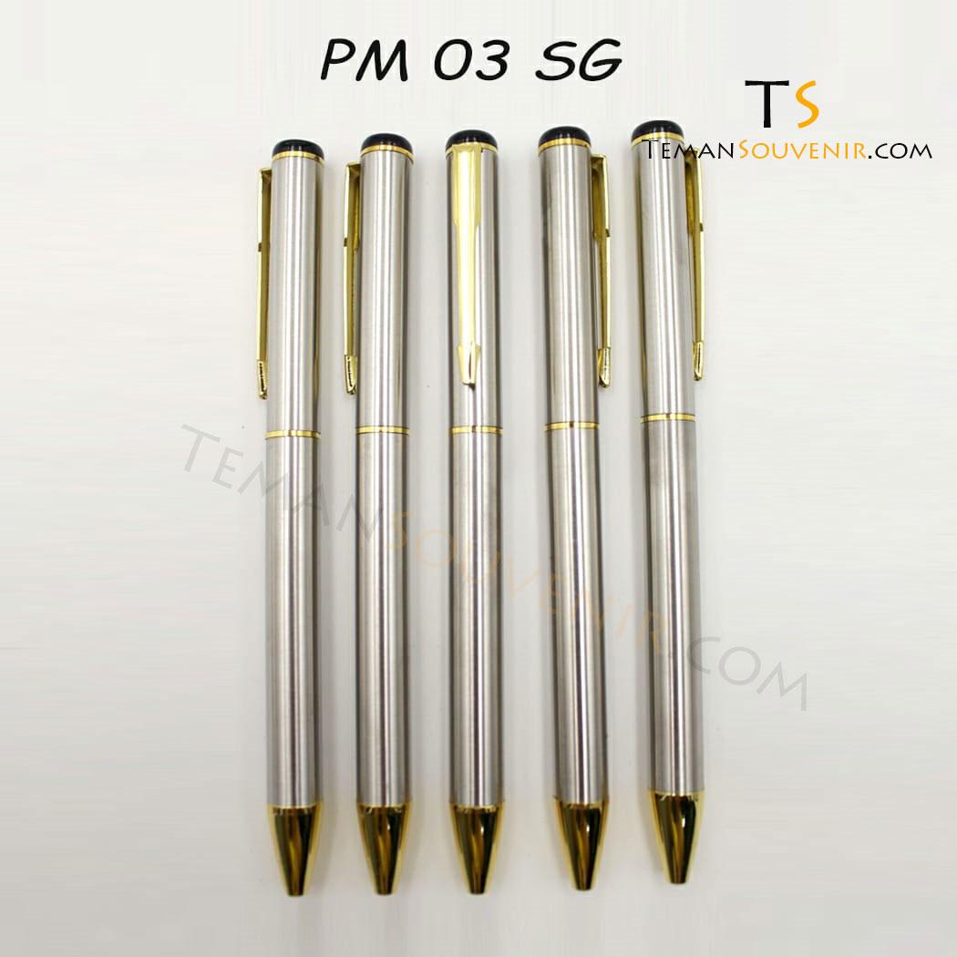 Pen Metal 03 - PM 03, barang promosi, barang grosir, souvenir promosi, merchandise promosi