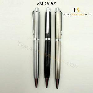 Pen Metal 19 - PM 19 BP, barang promosi, barang grosir, souvenir promosi, merchandise promosi