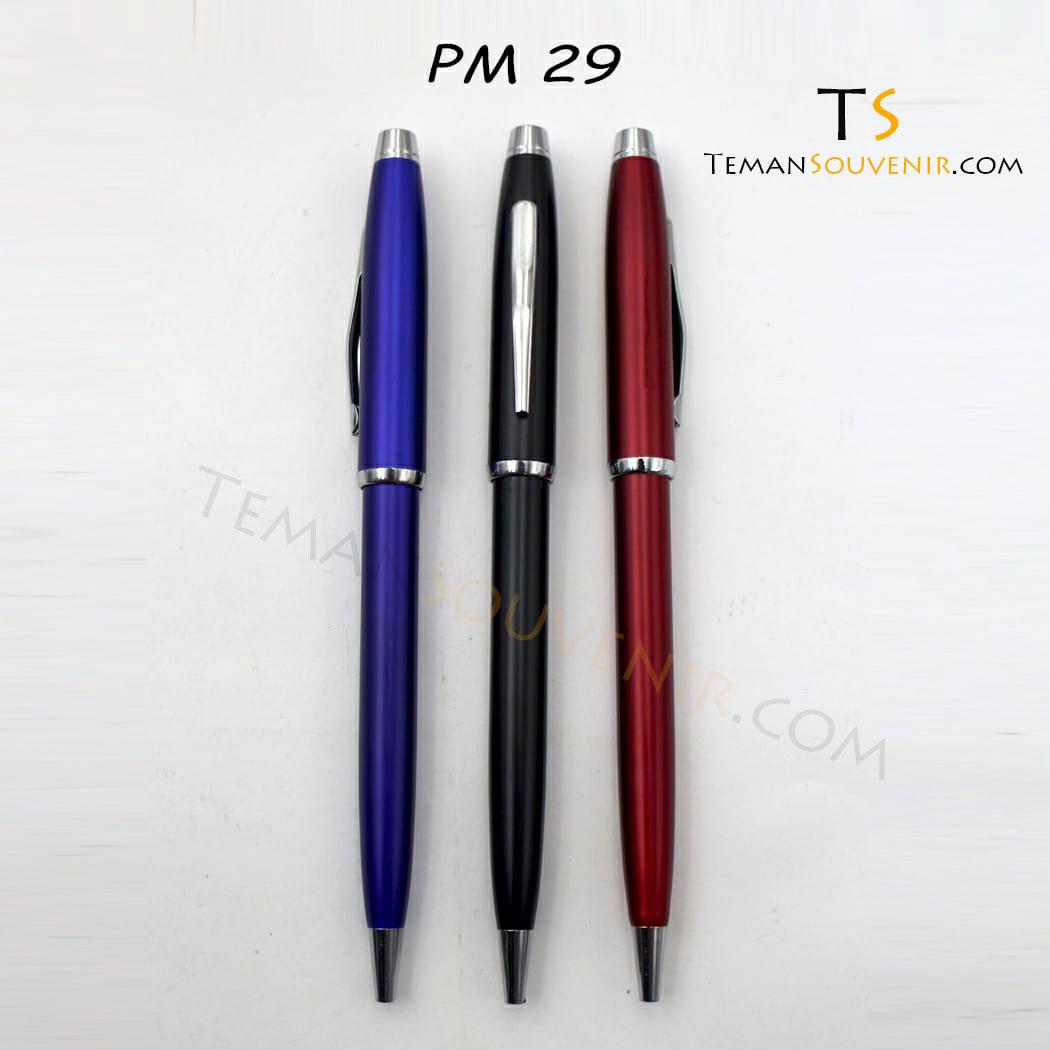 Pen Metal 29 - PM 29, barang promosi, barang grosir, souvenir promosi, merchandise promosi