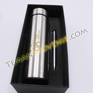 Souvenir Promosi Giftset 2 in 1 - OJK, barang promosi, barang grosir, souvenir promosi, merchandise promosi