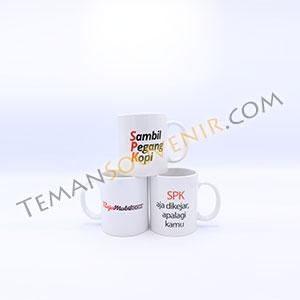 Souvenir Mug Keramik, barang promosi, barang grosir, souvenir promosi, merchandise promosi