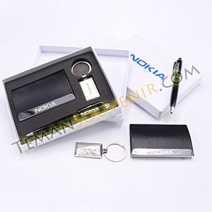 Souvenir promosi Giftset 3 in 1 - NOKIA, barang promosi, barang grosir, souvenir promosi, merchandise promosi