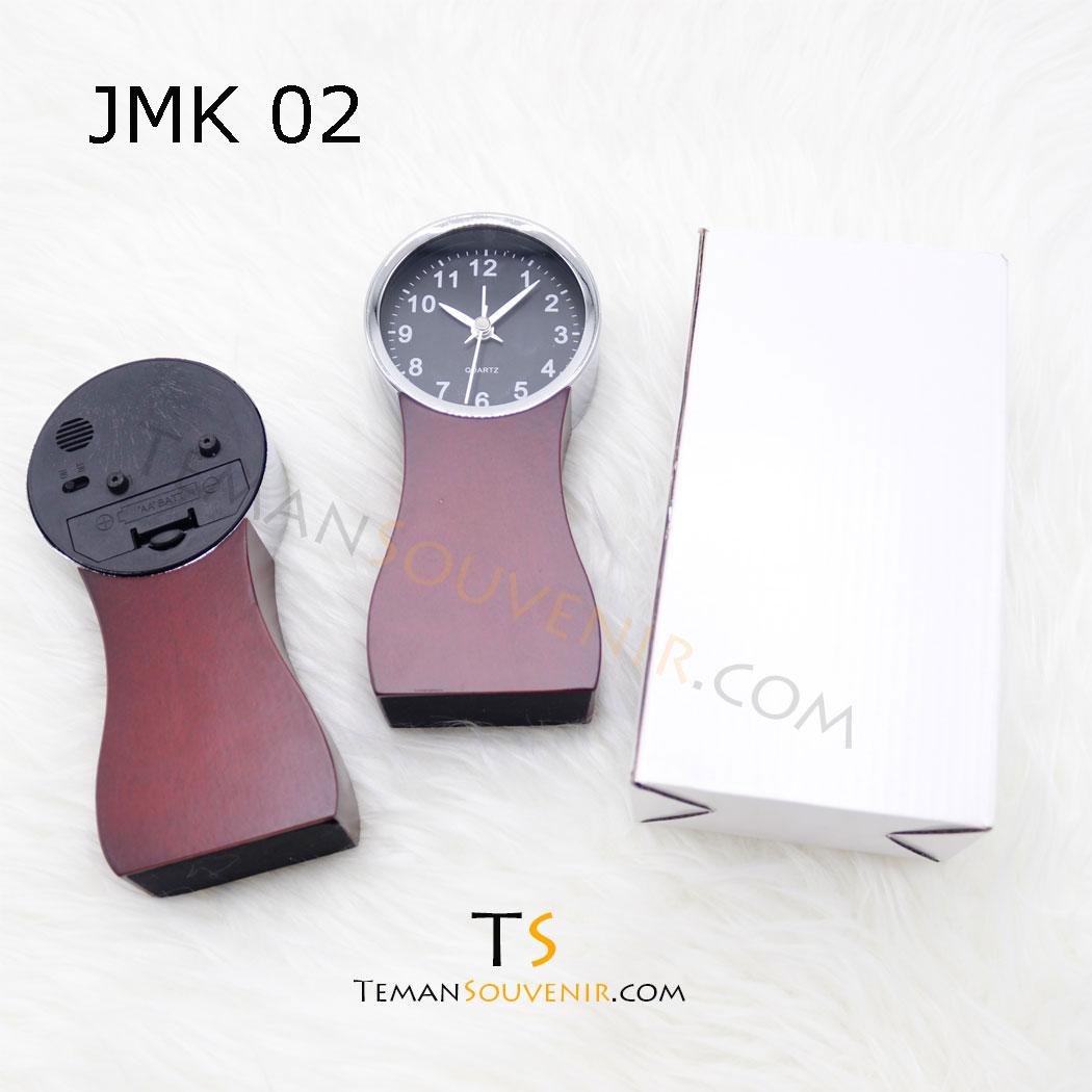 Jam Meja Kayu JMK 02,souvenir promosi,barang promosi,merchandise promosi,barang grosir