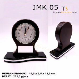 Jam Meja Kayu JMK 05 souvenir promosi, merchandise promosi, barang promosi, barang grosir