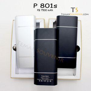 Powerbank P 801 S, barang promosi, barang grosir, souvenir promosi, merchandise promosi
