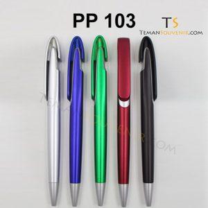 PP 103 - Pen Plastik 103, barang grosir, barang promosi, souvenir promosi, merchandise promosi