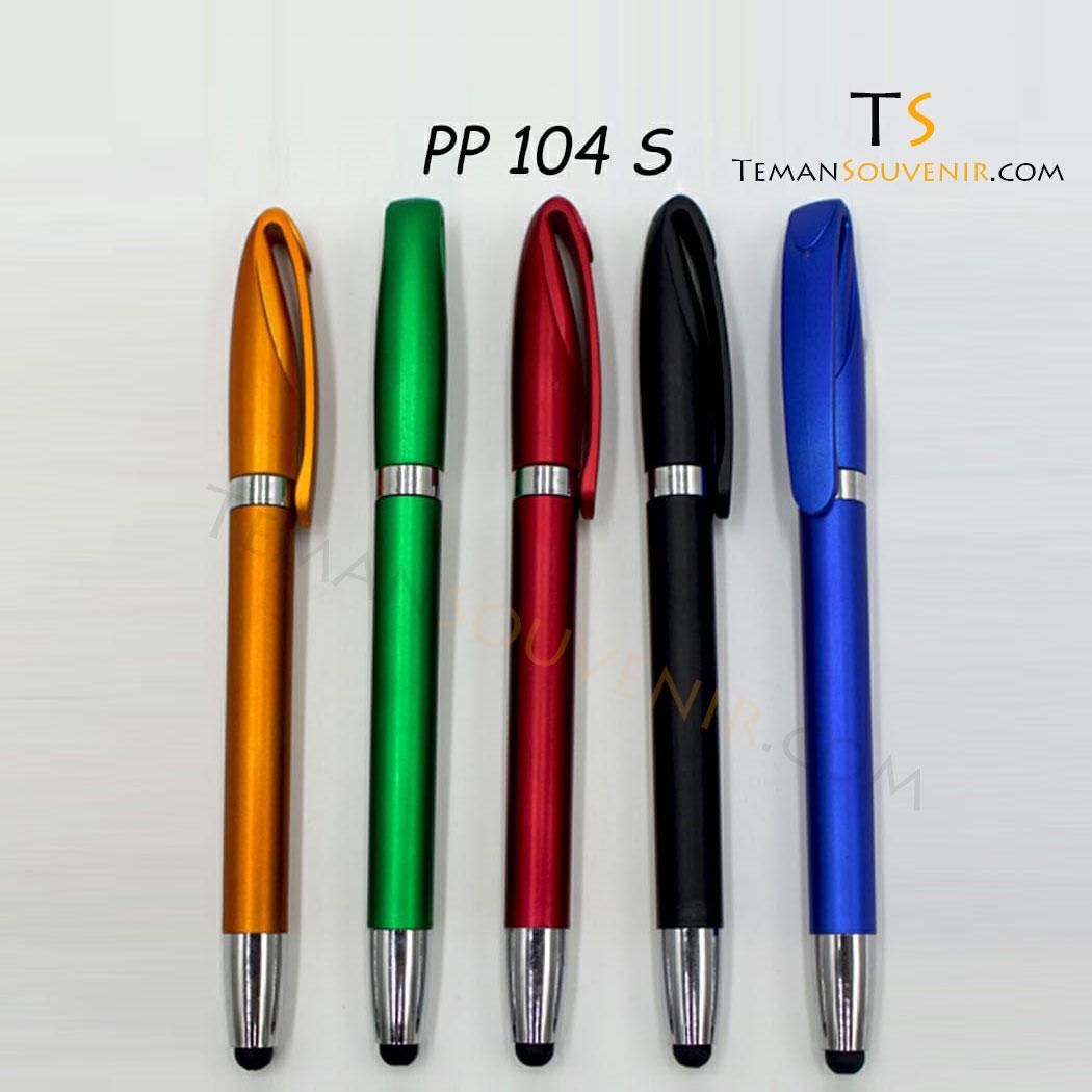 PP 104 - Pen Plastik 104, barang promosi, barang grosir, souvenir promosi, merchandise promosi