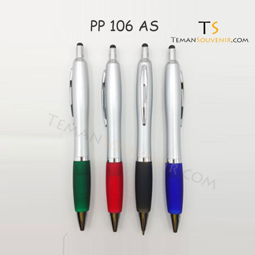 PP 106 - Pen Plastik 106, barang promosi, barang grosir, souvenir promosi, merchandise promosi