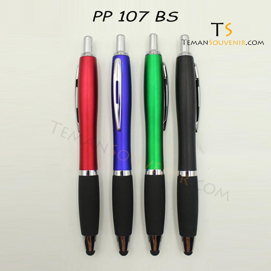 PP 107 - Pen Plastik 107, barang promosi, barang grosir, souvenir promosi, merchandise promosi