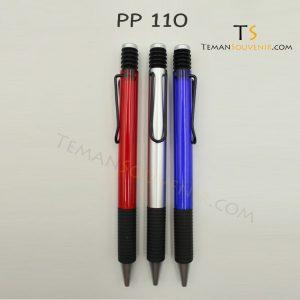 PP 110 - Pen Plastik 110, barang promosi, barang grosirl souvenir promosi, merchandise promosi