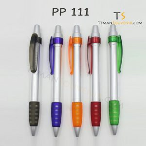 PP 111 - Pen Plastik 111, barang promosi, barang grosir, souvenir promosi, merchandise promosi