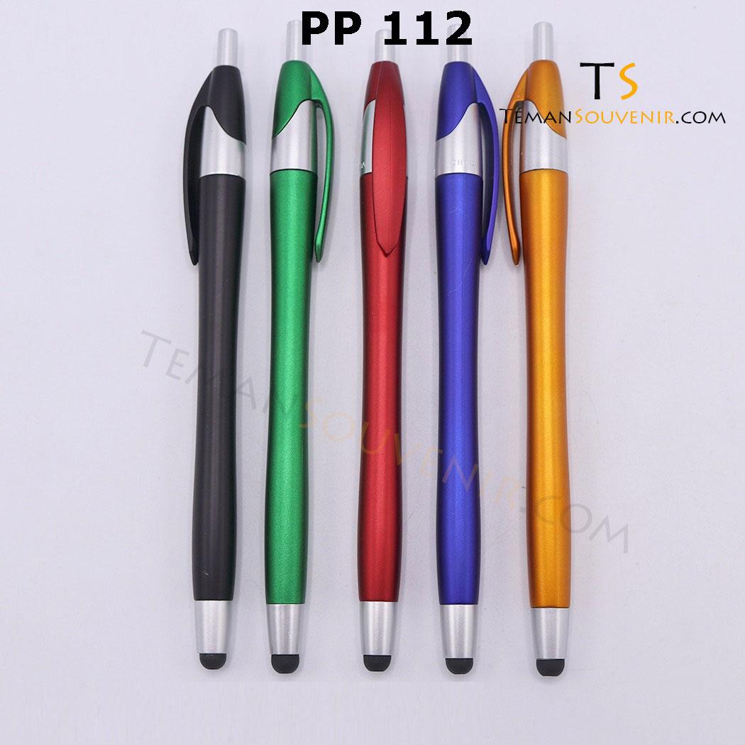 PP 112 - Pen Plastik 112, barang grosir, barang promosi, souvenir promosi, merchandise promosi