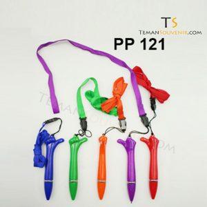 PP 121 - Pen Plastik 121, barang promosi, barang grosir, souvenir promosi, merchandise promosi