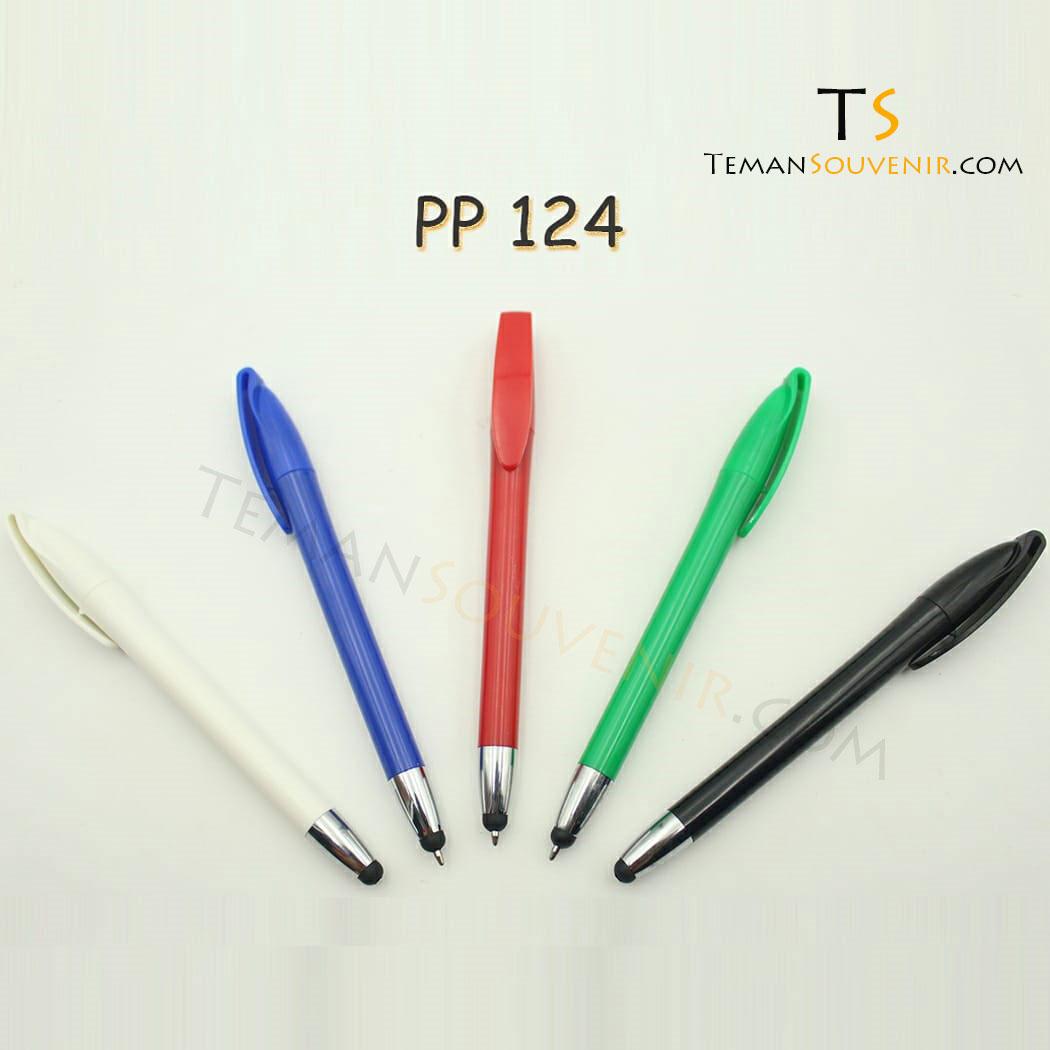 PP 124 - Pen Plastik 124, barang grosir, barang promosi, souvenir promosi, merchandise promosi