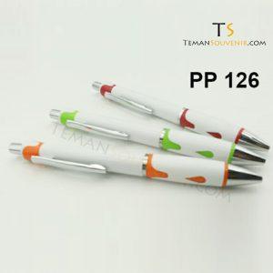 PP 126 - Pen Plastik 126, barang grosir, barang promosi, souvenir promosi, merchandise promosi