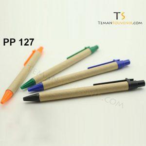 PP 127 - Pen Plastik 127, barang grosir, barang promosi, souvenir promosi, merchandise promosi