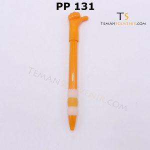 PP 131 - Pen Plastik 131, barang promosi, barang grosir, souvenir promosi, merchandise promosi