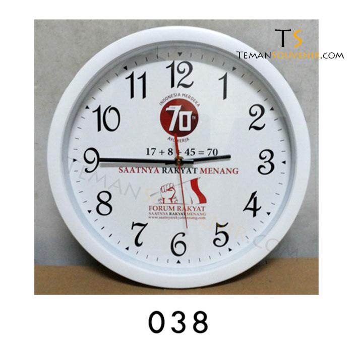 Jam Dinding 038, barang grosir, barang promosi, souvenir promosi, merchandise promosi