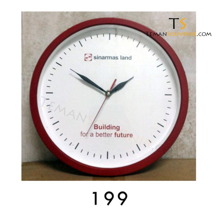 Jam Dinding 199, barang promosi, barang grosir, souvenir promosi, merchandise promosi