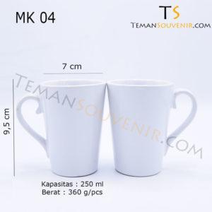 MK 04-Mug V,souvenir promosi,barang promosi,barang grosir,merchandise promosi