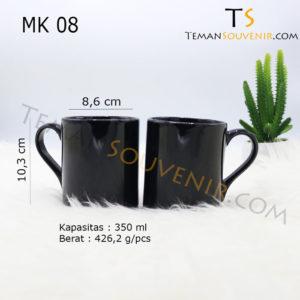 MK 08-Mug NK Kaki Handle Love,souvenir promosi,merchandise promosi,barang promosi,barang grosir
