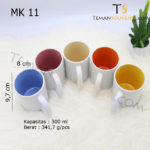 MK 11-Mug Warna Warni Handle C