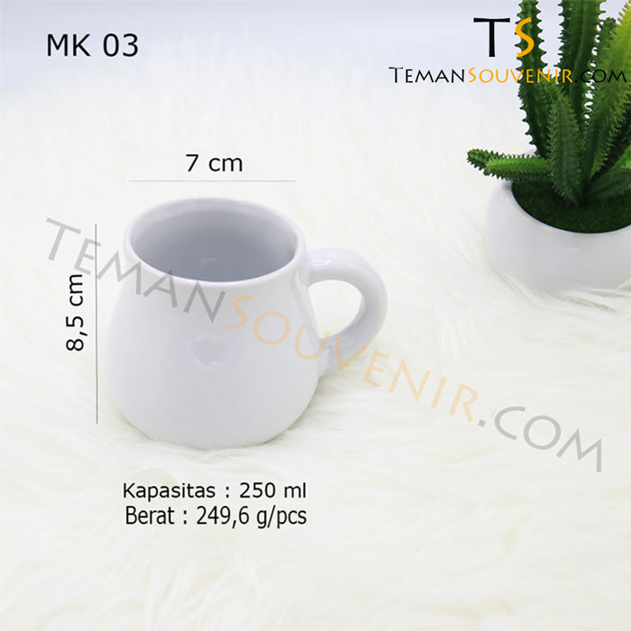 MK 03-Mug Gentong,souvenir promosi,merchandise promosi,barang promosi,barang grosir