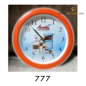 Jam Dinding 777, barang promosi, barang grosir, souvenir promosi, merchandise promosi