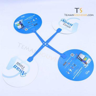 Kipas PVC - Awan Tunai, barang promosi, barang grosir, souvenir promosi, merchandise promosi