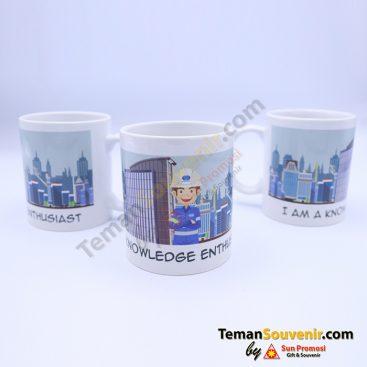 MK 01 - Mug I Am A Know, barang promosi, barang grosir, souvenir promosi, merchandise promosi