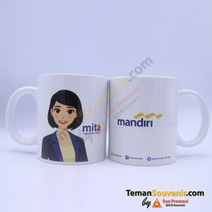 MK 01- Mug Keramik Standar, barang promosi, barang grosir, souvenir promosi, merchandise promosi