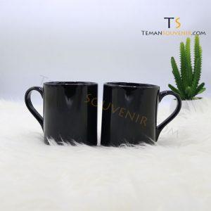 MK 08-Mug NK Kaki Handle Love, barang promosi, barang grosir, souvenir promosi, merchandise promosi