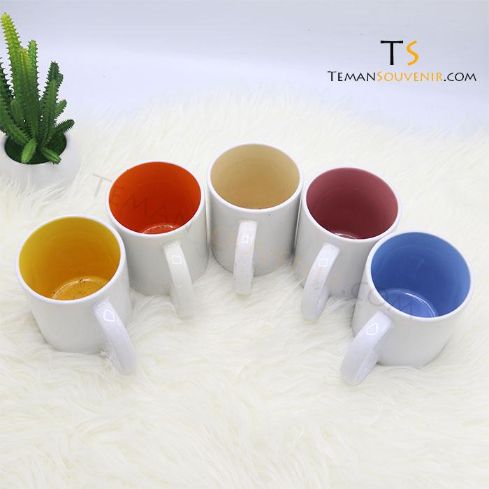 MK 11-Mug Warna Warni Handle C, barang promosi, barang grosir, souvenir promosi, merchandise promosi