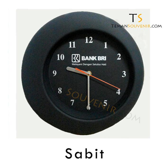 Jam Dinding Sabit, barang promosi, barang grosir, souvenir promosi, merchandise promosi