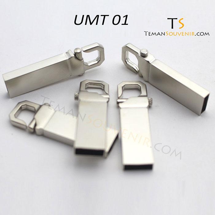 UMT 01-USB Metal, barang promosi, barang grosir, souvenir promosi, merchandise promosi
