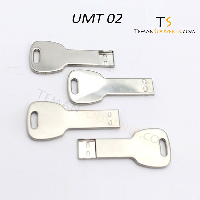UMT 02-USB Metal, barang promosi, barang grosir, souvenir promosi, merchandise promosi