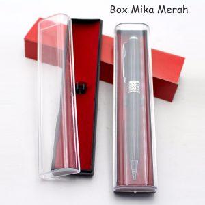 Box Mika Merah, barang promosi, barang grosir, souvenir promosi, merchandise promosi