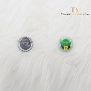 Pin 3,8 cm Glossy, barang promosi, barang grosir, souvenir promosi, merchandise promosi