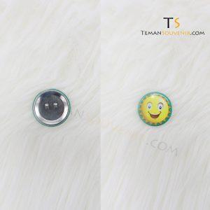 Pin 4 cm Glossy, barang promosi, barang grosir, souvenir promosi, merchandise promosi