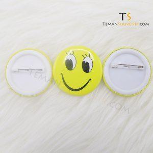 Pin 4,5 cm Glossy, barang grosir, barang promosi, souvenir promosi, merchandise promosi